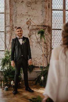 Un beau jour - shooting-inspiration-mariage-alsace-cloitre-lucile-k-16 Costume Vert, Chapelle, Alsace, Hui, Style, One Fine Day, Swag, Stylus