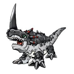 Monochromon - Champion level Dinosaur digimon