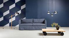 Hakola Filippa sofa. Hakola Woody sofa table. Design Annaleena Hämäläinen