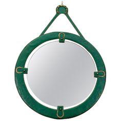 Jacques Adnet Equestrian Mirror