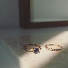 Custom Michelle Oh rose gold ring