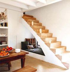 Under-stairs nook