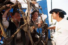 Pirates of the Caribbean: Dead Man's Chest behind the scenes