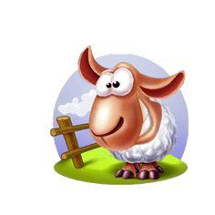 Contare le pecore Durante la notte - Buona notte - immagini brillanti GIF animate