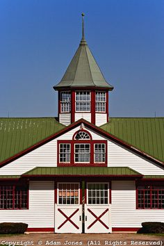 Horse barn, Calumet Farm, Lexington, Kentucky
