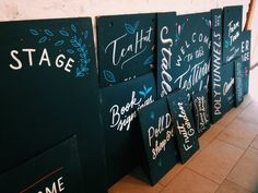Liz Tregaskis Illustration & Lettering • Chalkboards