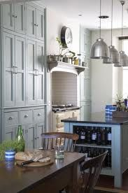 I love this kitchen for an older home because it's modern but doesn't look terribly modern.