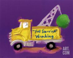 Full Service Wrecking Art Print by Anthony Morrow at Art.com