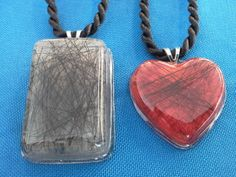 horse hair resin jewelry | horsehair
