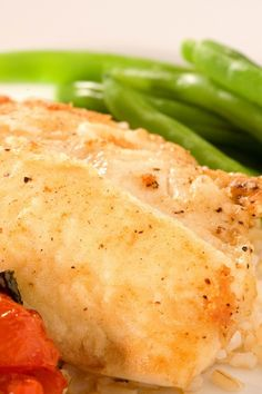 Skillet Tilapia with Green Beans Recipe
