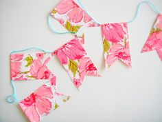 DIY Paper Flags and Bunting | A Pretty Party Craft Idea