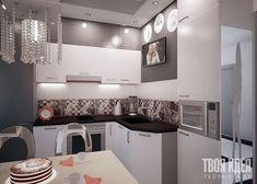 Дизайн небольшой кухни - Дизайн квартир, заказать или купить в Минске