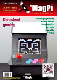 The MagPi: Issue 15, Aug 2013