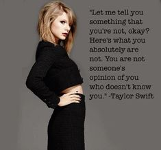 Image result for be yourself because eventually they'll run out of things to become taylor swift