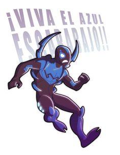 Jaime Reyes, Blue Beetle - Kanish.deviantart.com