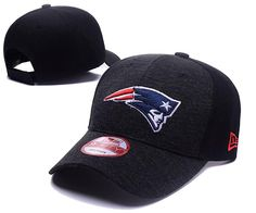 Men's / Women's New England Patriots New Era 2016 NFL Classic Team Adjustable Curved Hat - Heather Grey / Black