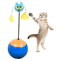 Electric Tumbler Cat Toys interactive toys for cats Multi functional Laser Pet Dog Leakage Food toys Ball Toy Products New