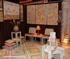 Quilt Market Booth and the Creativity Award! Fall2011 - Jenean Morrison Blog - Jenean Morrison