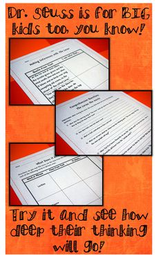 Read about how I use The Lorax (book and movie) with my 5th graders to teach the Language Arts Common Core Standards!