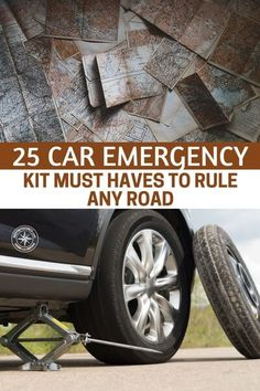 25 Car Emergency Kit Must Haves to Rule Any Road — Most of us believe it or not do not have any kind of kit for emergencies in our car. I think the statistics is like of Americans have an emergency kit for that just in case moment Emergency Preparedness Kit, Emergency Survival Kit, Emergency Supplies, Survival Knife, Survival Prepping, Emergency Planning, Camping Supplies, Car Gadgets, Kit Cars