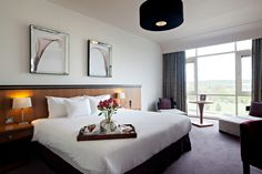 A Classic Double room at Fota Island Resort Destination Wedding Locations, Double Room, Europe Destinations, Island Resort, Bed, Resorts, Ireland, Furniture, Classic
