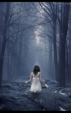 the forest was drowning. I could hear the trees caught in the struggle between gulping down the water and dying in it. like our lives. deciding between embracing life to it's fullest or living safely a little longer. But, like the trees--we didn't have a choice.