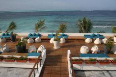 Holiday Inn Kandooma #voyagewave #maldivesholidays -->> www.voyagewave.com Kandooma Maldives, Jogging Track, Maldives Holidays, Hallway Ideas, Luxury Holidays, Body Treatments, Surfing, Spa, Waves