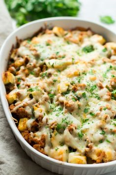 This Sweet Potato Zucchini Casserole recipe is incredible flavourful…