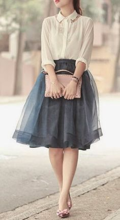 Curating Fashion & Style: tulle