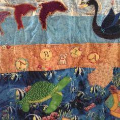 Aria's quilt detail 4