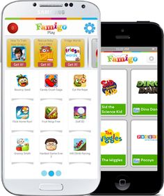 Famigo - safer place for kids to play on your device