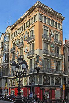Casa dels Paraigües (House of Umbrellas) ,Barcelona