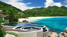 So you're planning your holiday in Seychelles! The Seychelles islands are one of the most beautiful in the world and home to one of the richest cultures and cuisines, with a lush flora and fauna… Seychelles Hotels, Seychelles Islands, Seychelles Honeymoon, Luxury Spa, Luxury Resorts, Sandals Montego Bay, Unique Vacations, Most Luxurious Hotels, Romantic Honeymoon