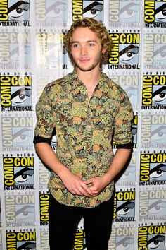 Toby Regbo — CW's 'Reign' Press Line & Panel at Comic-Con International 2014 in San Diego — July 24, 2014 #TobyRegbo #Reign #ComicCon