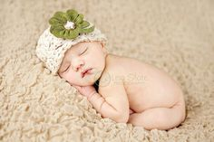 Cute St. Patrick's Day baby hat on Etsy at…