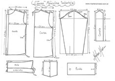 Infant Shirt Template size Source by Sewing Paterns, Sewing Patterns Free, Clothing Patterns, Sewing Men, Sewing Clothes, Gents Shirts, Shirt Tutorial, Shirt Template, Sewing Projects For Kids