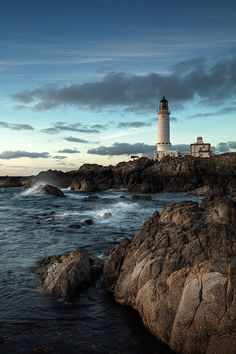 Corsewall Lighthouse, Dumfries & Galloway, Scotland by Nick Silverstein Lighthouse Pictures, Lighthouse Art, Landscape Photos, Landscape Photography, Nature Photography, Water Tower, Am Meer, Beautiful Landscapes, Beautiful Places