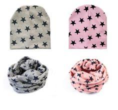 Sombreros del bebé del bebé del algodón cap bufanda otoño invierno niños bufanda de cuello anillo o del bebé Gorros niños niñas Infantil niños niños sombrero tapas