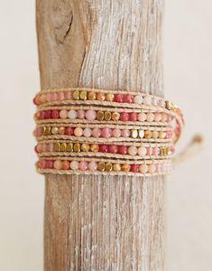 - Description - Artisan - Hang Tag This bracelet features semi-precious stones…