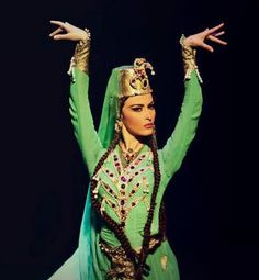 "Traditional Georgian dance ""Jeirani"" - one of my favourite dance with one of my favourite dancer"