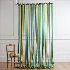 Just Add A Dress Ready To Hang Ribbon Curtain Backdrop Woodland Greens 396 305 Cop