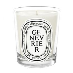 Genevrier (Juniper) Candle by Diptyque at Smallflower.com