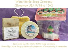 Giveaway: The Water Bottle Soap Company Guest Soap Package Ends 10/2 1 winner