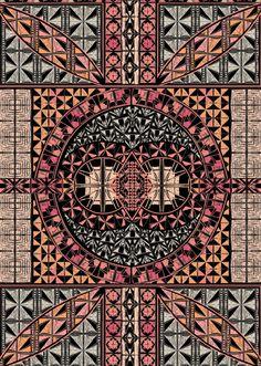 Geometric Scarf - Lunelli Textil   www.lunelli.com.br