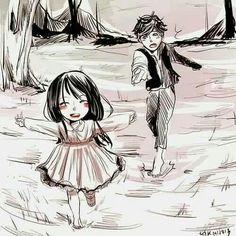 La inocencia de la felicidad incierta, cuando lo mas simple es apreciado, importante.
