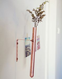DIY Copper Bud Vase | Lovely Indeed