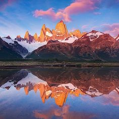 Location: Mount Fitz Roy - El Chaltén, Argentina.  Photo Credit: @grantordelheide
