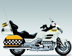Funny way to do business for Honda France, as they recently made some declarations stating that the flagship Gold Wing was not designed as a taxi motorcycle.