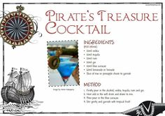 Image result for pirate cocktails