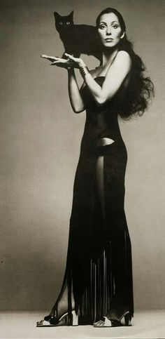 ♡ Cher in Black ♡